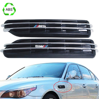 2pieces Set Car Styling Air Flow Side Vents Trim Cover Stickers For BMW Sticker M5 E12