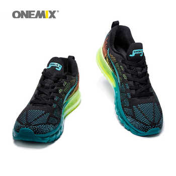 Onemix Air Running Shoes for Men Summer Sneaker Super Light Shoes Breathable Athletic Shoes sport air max shoes free original