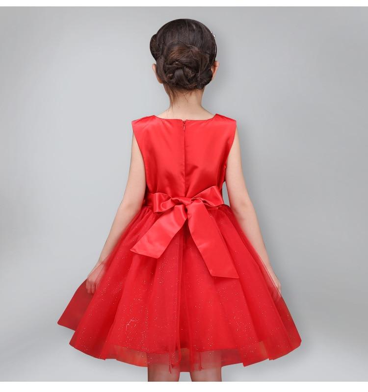 Girls Dress Children Clothing Princess Summer Wedding Party Girls - Ubrania dziecięce - Zdjęcie 4