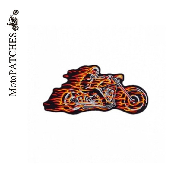 Hat Garment Logo Back Embroidered Iron On Patches Motorcycle Biker Vest  Patches For Clothing 3ef8503caf03