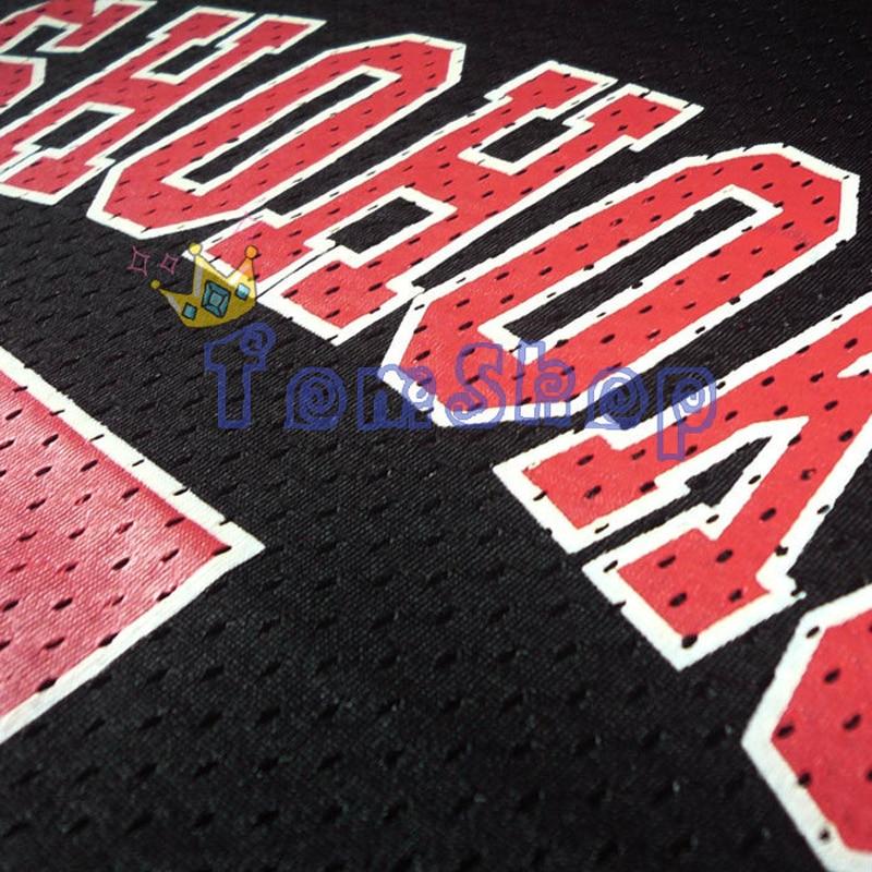 Image 3 - SLAM DUNK Cosplay Costume Shohoku #7 Ryota Miyagi Black Basketball Jersey Tops Shirt Vest Sportswear Athletic Uniform Size M XXLslam dunk cosplaycosplay costumecostume cosplay -