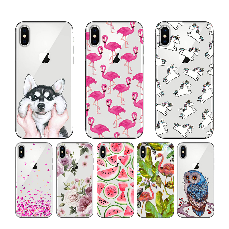 CROWNPRO POUR iPhone 5 5S SE 6 6 S 7 8 Plus X XS MAX Cas Couverture la sFOR iPhone XR cas TPU POUR Capa iPhone 6 S Cas la sFOR iPhone 5 Cas