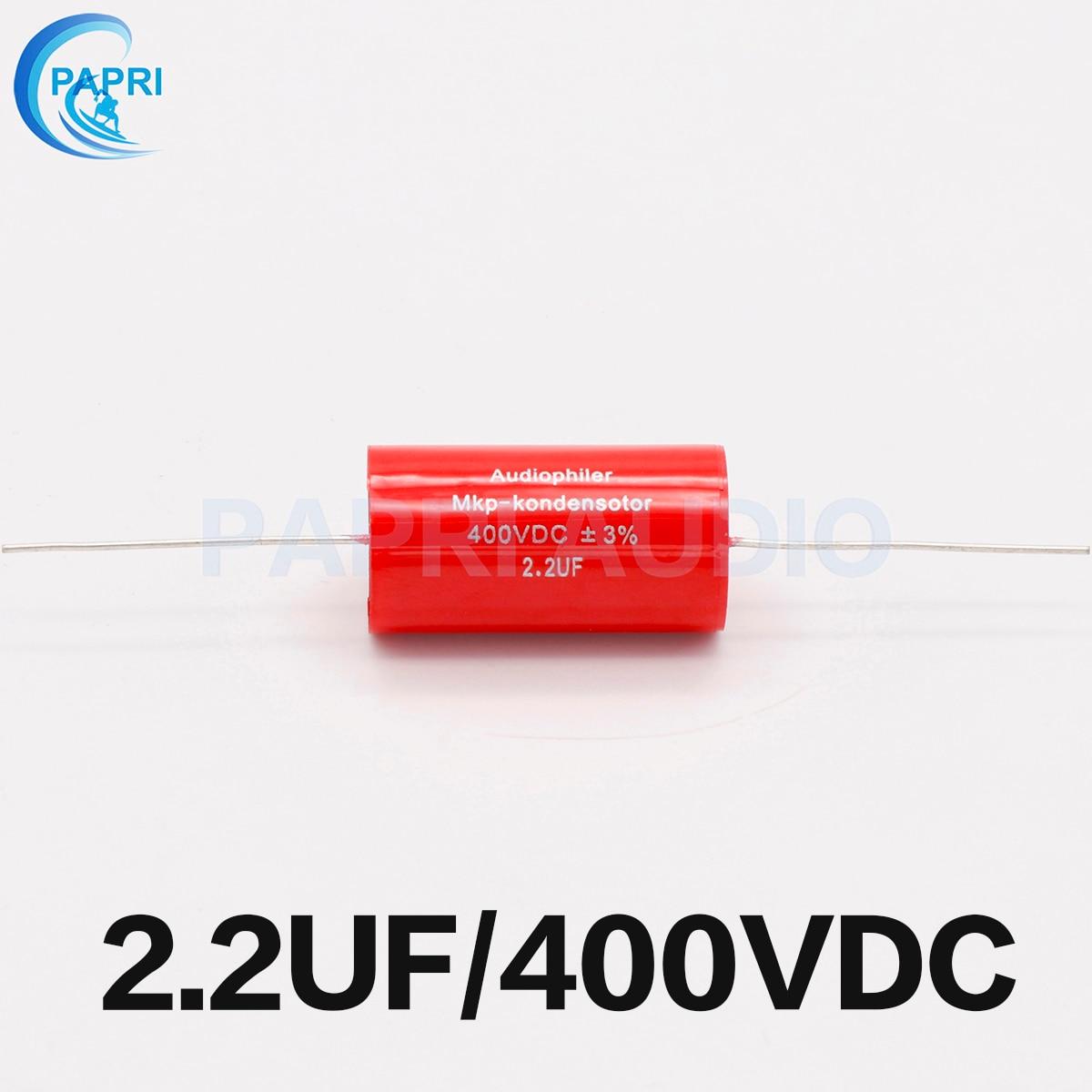 5pcs MKP 1uF 400V DC Audiophiler Audio Grade Capacitor for Guitar Parts Amp