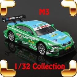 Подарок на Новый год M3 1/32 Модель гоночного статический коллекция Игрушечные лошадки автомобиль металла автомобиль мини dtm украшения