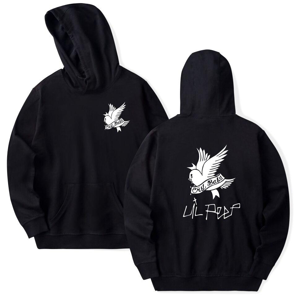 Lil Peep Hoodies Liebe lil. peep männer/frauen Mit Kapuze Pullover sweatershirts männlich/weiblich sudaderas cry baby haube hoddie Sweatshirts