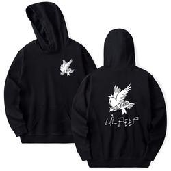 Lil открытым толстовки Love lil. открытым для мужчин/женщин пуловер с капюшоном свитер мужской/женский длинный cry baby Гуд hoddie кофты