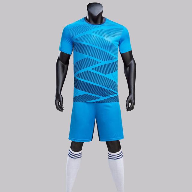 2018 New Kids Adult Soccer Jerseys Sets Survetement Football Kits Men Child Futbol Training Uniforms sets Maillot De Foot Jersey