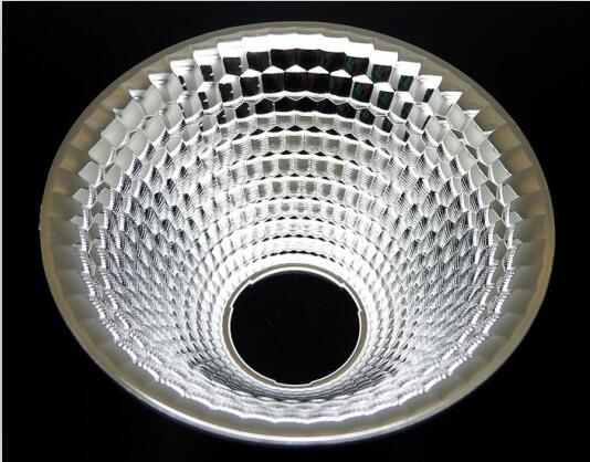 OIZN-92 High quality COB Reflective Cup, Size:92X44.3mm, 60 degree, Clean Surface, PC Materials, Aluminum Coating