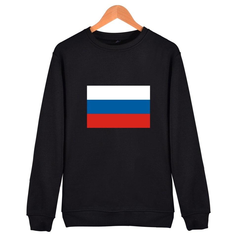 2018 Aikooki Russland Flagge Hoodies Männer/frauen Mit Mode Harajuku Sweatshirt Männer/frauen Casual Schwarz Baumwolle Kleidung