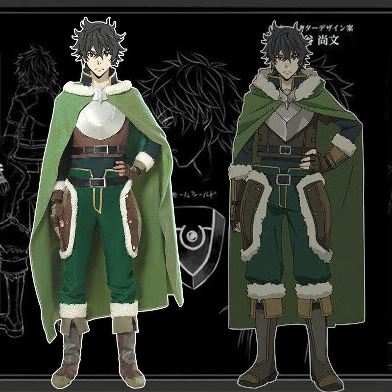 The Rising of the Shield Hero Naofumi Iwatani Jacket Cosplay Zip Hoodie Costume