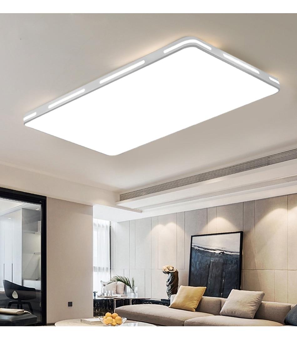 HTB1Z3wTXQT2gK0jSZPcq6AKkpXag Modern LED Ceiling Light Lamp Lighting Fixture Surface Mount Flush Remote Control Dimmable 18W 48W Living Room Bedroom Balcony