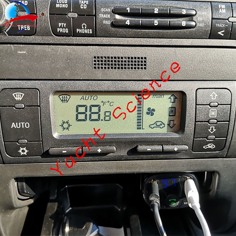 Image 2 - Car ACC Unit LCD Display Climate Control Monitor Pixel Repair Air Conditioning Information Screen For Seat Leon/Toledo/Cordoba-in Car Monitors from Automobiles & Motorcycles