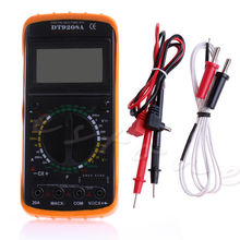 New Hot Digital Multimeter LCD AC/DC Ammeter Resistance Capacitance Tester DT9208A Useful