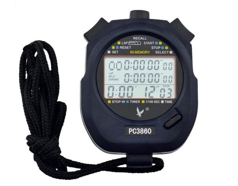 Chronomètre pour hommes numérique professionnel chronographe chronomètre numérique Sport compteur minuterie professionnel athlétisme chronomètre