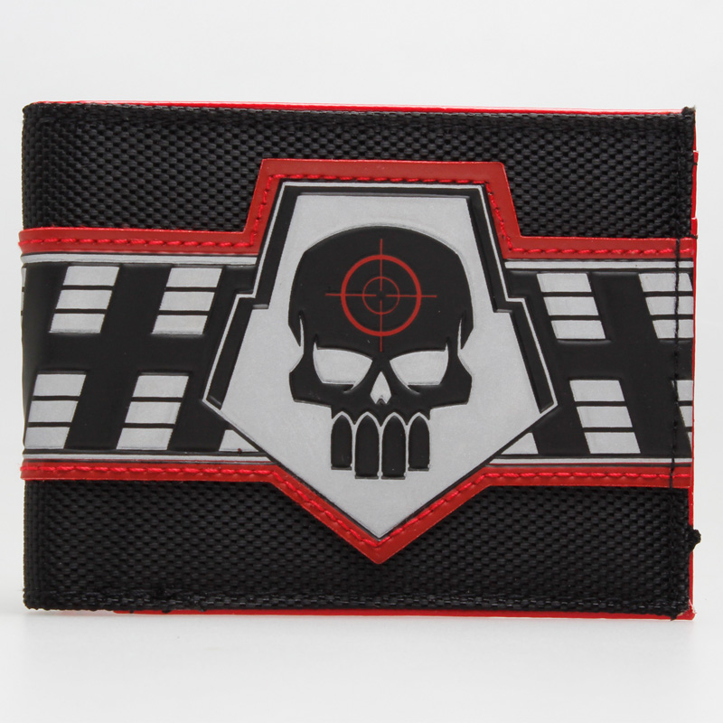 DC Comics Suicide Squad Deadshot Bifold Wallet DFT-1834 zelda wallet bifold link faux leather dft 1857