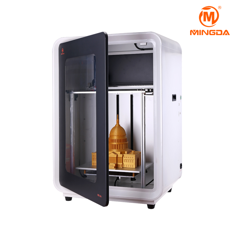 2018 Newest MINGDA MD-6H 3D Printer Large Size 400x300x500mm 3D Printer Machine for STL File 3 D Designs
