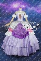 Puella волхвов Мадока Magica Homura Акеми Маскарадный костюм Золушки готический платье Хэллоуин форма наряд на заказ