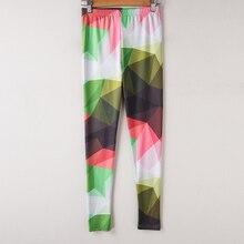 High Waist Colorful Leggings For Women
