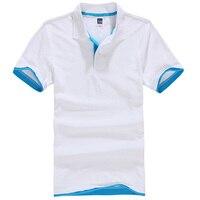 2017 Summer Women Men Pure Color Leisure Polo Shirt Black Pink White Plus Size Breathable Cotton