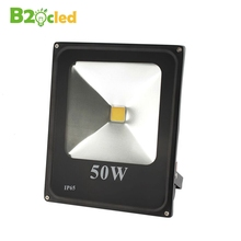 купить led floodlight 10W 20W 30W AC90-240V waterproof IP65 spotlight lamp outdoor lighting exterior wall Reflector ultrathin light по цене 781.57 рублей