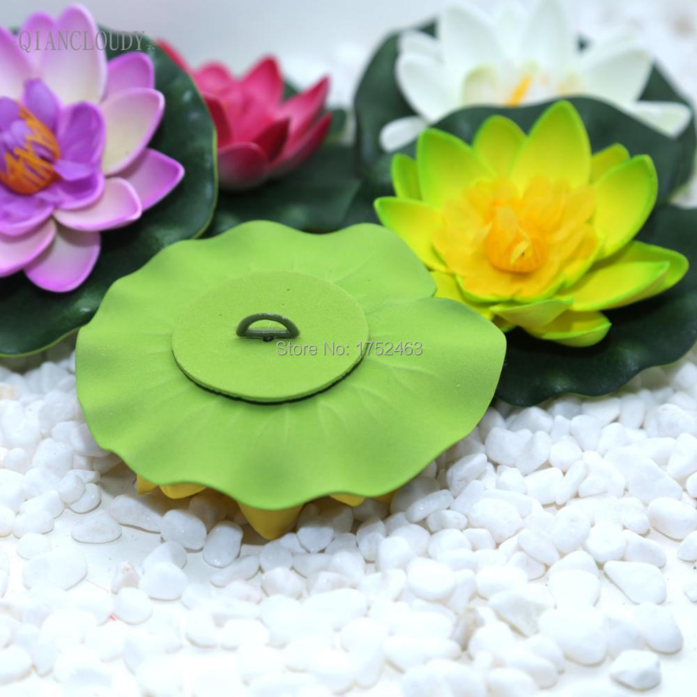Retail artificial fake lotus flowers leaf pond flower water lily retail artificial fake lotus flowers leaf pond flower water lily floating pool mariage flores plants wedding decoration b98 in artificial dried flowers izmirmasajfo