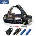 head flashlight Frontal led headlight CREE XML T6 XM L L2 headlamp 3800 lumens head lamp 18650 Rechargeable Battery