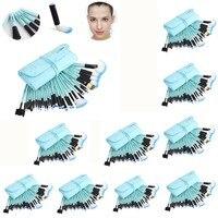 Professional 10sets Lot 32pcs Wholesale Makeup Brush Cosmetic Kits Brushes Foundation Powder Blusher Eyeliner Pincel Maquiagem