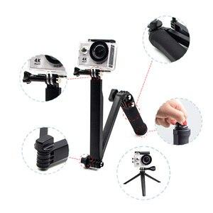 Image 5 - Juego de accesorios para cámara Gopro hero 7, accesorios para cámara Gopro hero 7, kit de 3 vías de palo selfie para Eken h9r H8R/xiaomi yi EVA