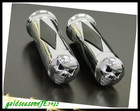 metal CHROME SKULL HAND GRIPS for Honda Shadow 600 750 1100 VT VTX 1300 1800 GL CB CBR