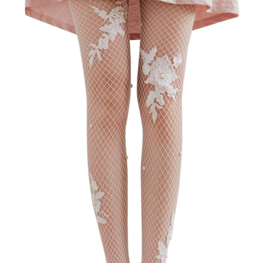 snowshine YLI Women Sex Transparent Tights Fishnet Silk Stockings Lady Mesh Pantyhose
