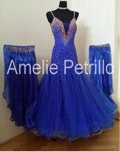 New Competition  ballroom Standard dance dress,juvenile clothing,stage dress,Tango Dance Dress,dance clothing
