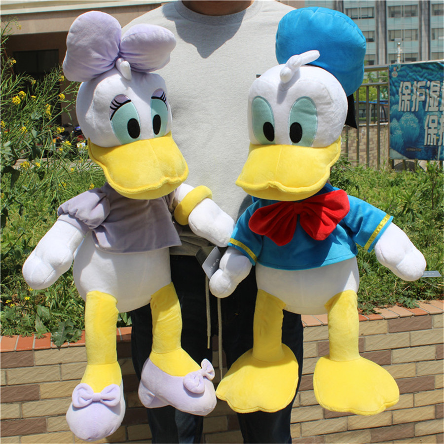 1 pièce 65 cm Donald canard daisy peluche jouets garçons fille cadeau d'anniversaire poupée