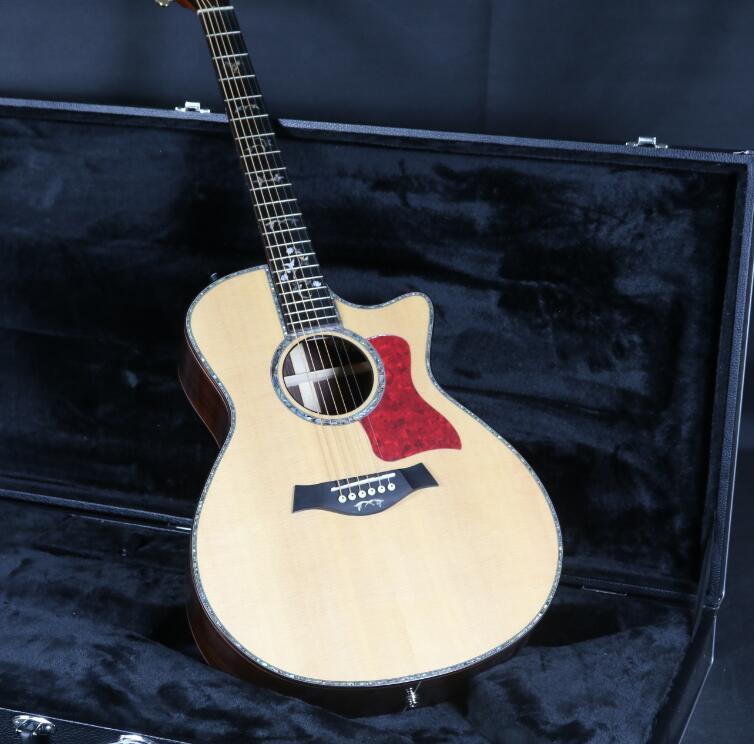 40 ''Cutway 916 guitare acoustique électrique b-band micros ébène touche Grover Tuner haut rigide