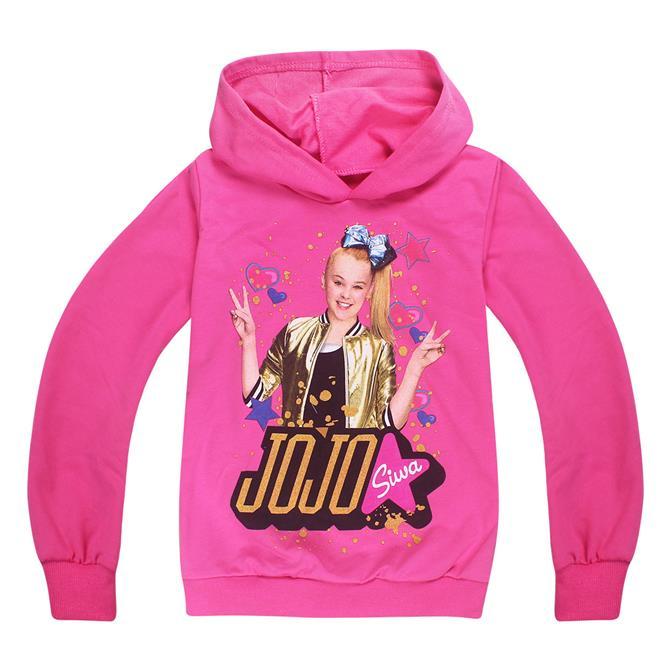9e9d1a63a4 2018 New Children Clothing Siwa Hoodies for Girls Baby Girl Teenage  Sweatshirt Moana Trolls Tracksuits Long Sleeve T Shirts