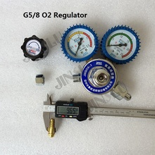 G5/8 O2 Oxygen Gas Regulator Reduced Pressure Gauge стоимость