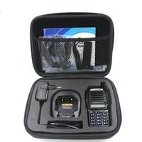baofeng uv שתי דרך רדיו Case תיק Portable Carry היד החפצה עבור Baofeng UV-82 UV-8D מוטורולה GP328 מכשיר קשר התיק הושק ציד (2)