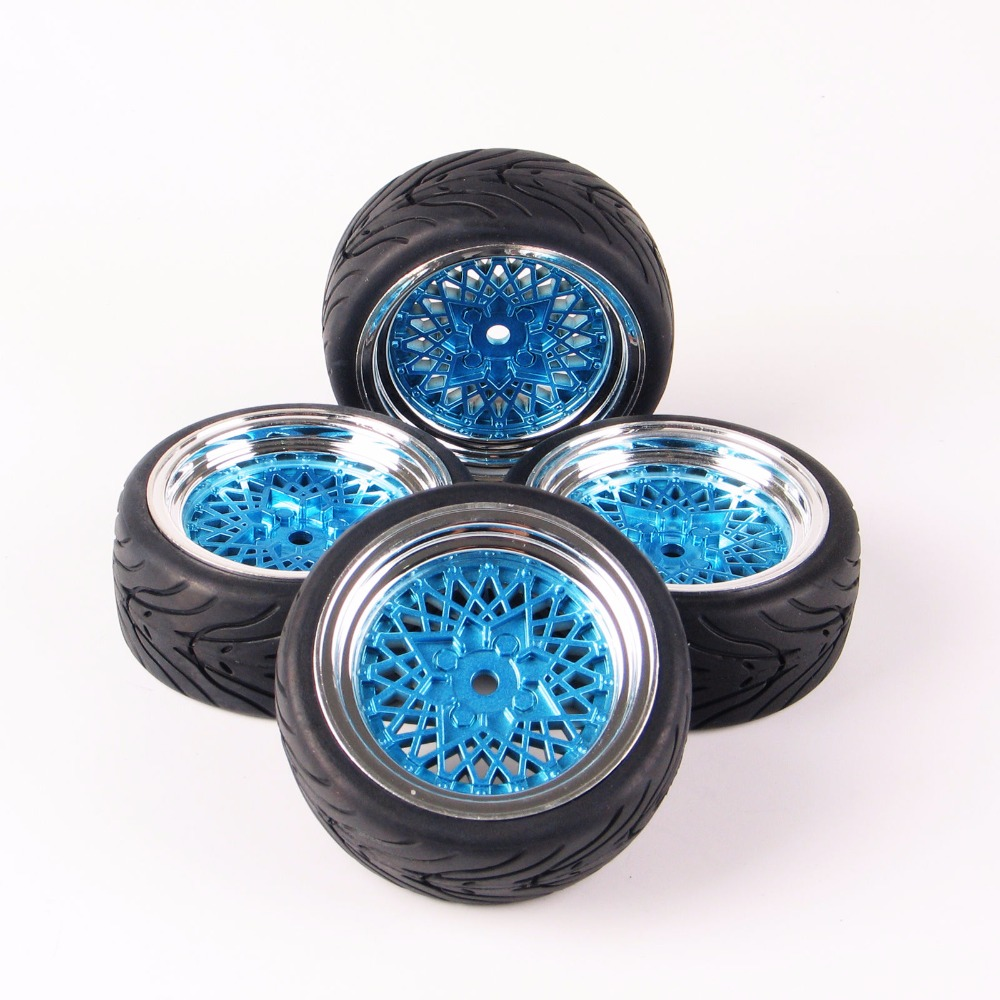 12mm hex rc car model kids toys accessory 1 10 flat rubber tires and wheel rim for hsp hpi rc on. Black Bedroom Furniture Sets. Home Design Ideas