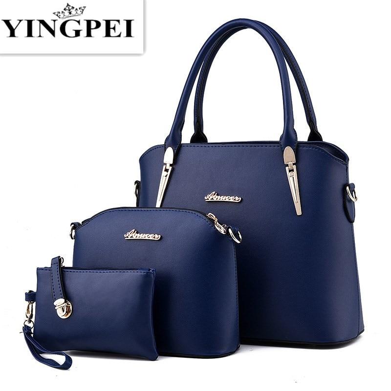Women Messenger Bags Ladies Tote Small shoulder bag woman brand leather  handbag crossbody bag with scarf df63c816f96ee