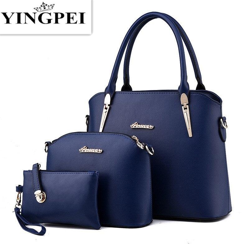 edd7f9e85723 Women Messenger Bags Ladies Tote Small shoulder bag woman brand leather  handbag crossbody bag with scarf