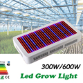 New 300W/600W Full Spectrum LED Grow Light All Brands Red+Blue+White+UV+IR AC85~265V SMD5730 Led Plant Lamps LED Aquarium Lamps