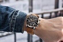 Top Casual Fashion Quartz Watch Leather Strap