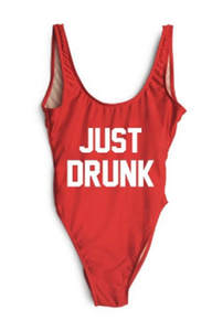 f581e07869aba JUST DRUNK One Piece Swimwear Thong Backless Women Sexy Low Back Bodysuit