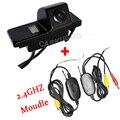 2.4 Ghz Transmissor E Receptor Sem Fio Car Câmara de Visão Traseira Para NISSAN QASHQAI X-TRAIL ENSOLARADO PATROL Peugeot 307 cruz 308 408