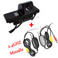 2.4 Ghz Transmitter And Receiver Wireless Car Rear View Camera For NISSAN QASHQAI X-TRAIL SUNNY PATROL Peugeot 307cross 308 408