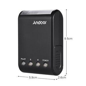 Image 4 - Andoer WS 25 Mini esclavo Digital portátil, Flash Speedlite, con zapata Universal, GN18, para Canon, Nikon, Pentax, Sony
