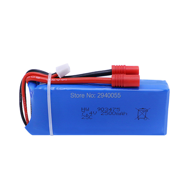 Original Syma 7.4V 2500mah Lipoly battery Spare part for X8 X8A X8C / X8C-1 X8G X8W RC Quadcopter Drone helicopter free shipping h22 007 receiver board spare part for h22 rc quadcopter