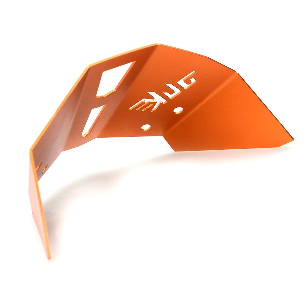 Motorcycle Aluminum accessories Motorbike Windshield Windscreen Orange Windshield Windscreen For KTM Duke 125 200 390 in Windscreens Wind Deflectors from Automobiles Motorcycles