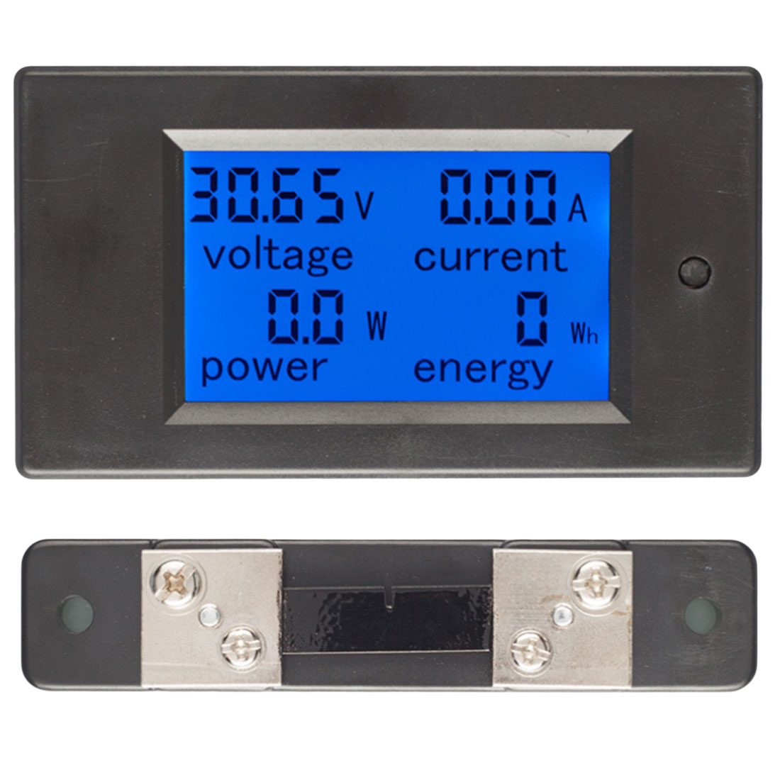 <font><b>DC</b></font> 6.5-<font><b>100V</b></font> <font><b>50A</b></font> 4 IN1 Digital <font><b>Voltmeter</b></font> <font><b>Ammeter</b></font> LCD <font><b>DC</b></font> Voltage Current Power Energy Meter Tester with <font><b>DC</b></font> 100A/75mV Shunt image