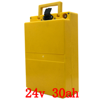 24v 30ah battery 24v 30ah electric bike battery 24v 30ah lithium battery with 30A BMS and 29.4V 3A charger Free customs duty|Electric Bicycle Battery|   -