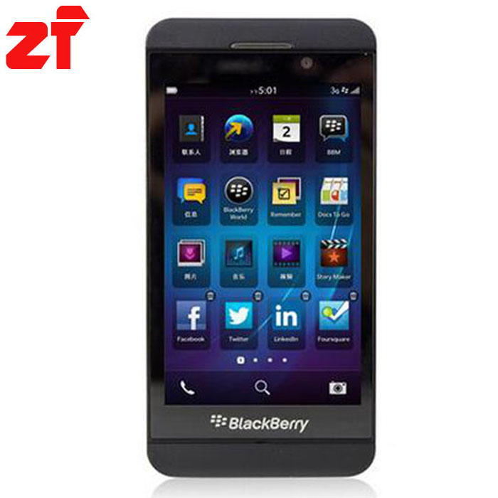 Original Blackberry Z10 unlocked mobile phone 3G 4G GSM 4 2 8MP WIFI GPS 16GB internal